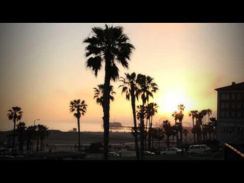 Santa Monica Pier Sunset Timelapse 05.30.10