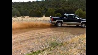 Twin Turbo Cummins VS. Chevy Silverado 1500!!!