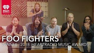 Foo Fighters Win Best Rock Song | 2018 iHeartRadio Music Awards