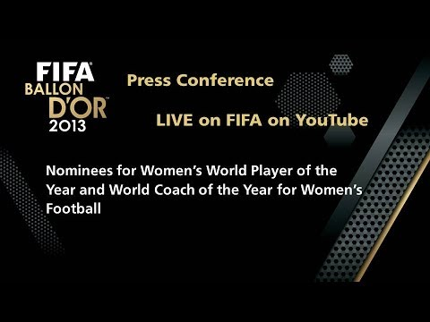 COMING SOON - LIVE: Women's World Player and Coach of the Year Nominee Press Conference
