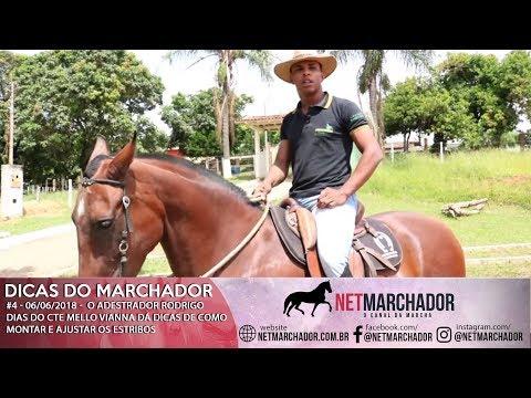 #4 DICAS DO MARCHADOR - RODRIGO DIAS - COMO MONTAR E AJUSTAR OS ESTRIBOS