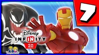 Disney Infinity 2.0 Spider-Man Walkthrough Part 7 (IRON