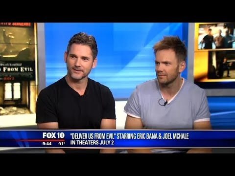 Actors Eric Bana, Joel McHale visit FOX 10