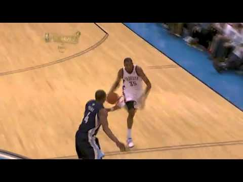 Kevin Durant dunk over Marc Gasol 5-11-11