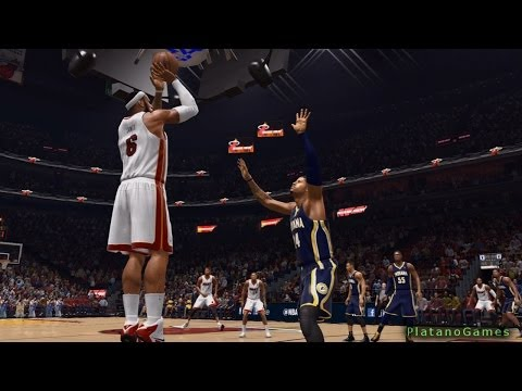 NBA Live 14 PS4 - Indiana Pacers vs Miami Heat - 4th Qrt - HD