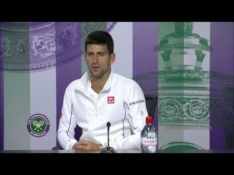 Novak Djokovic: 'I need to learn to fall' - Wimbledon 2014