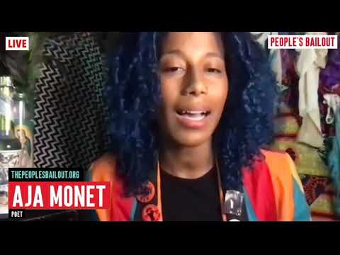 "Aja Monet | Reads ""Love Supreme"" (People's Bailout)"