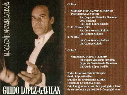 Variantes para saxofón y orquesta de Guido López Gavilán