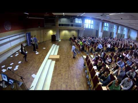 Flash mob of the University of Economics in Katowice