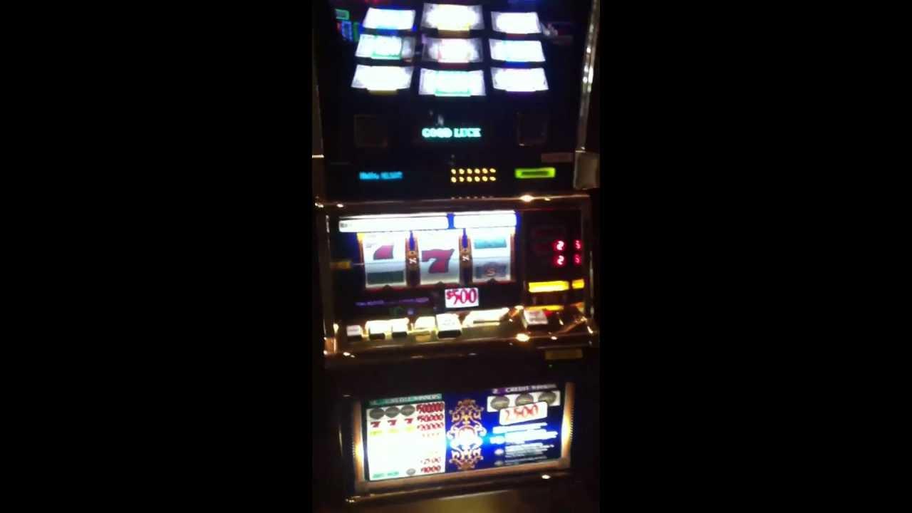 500 dollar top dollar slot machine