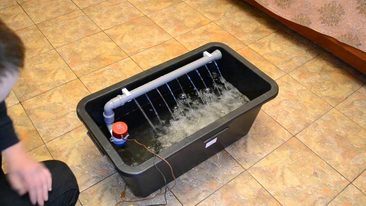 Охлажденная вода своими руками