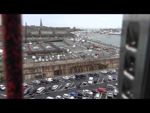 VIDEO: Saint-Malo du haut du mât