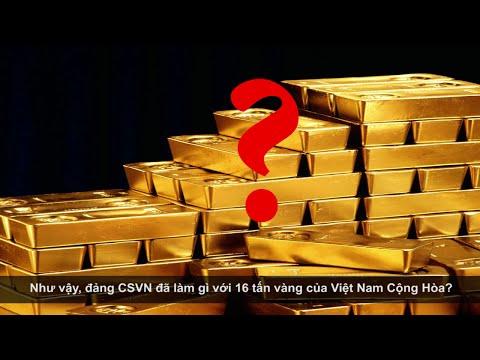 CSVN thừa nhận mang 16 tấn vàng VNCH cống nộp cho Liên Xô