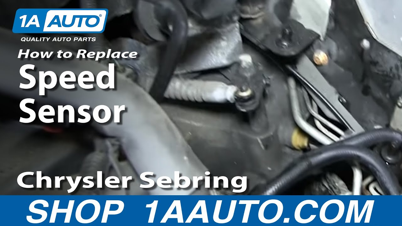 How To Install Replace Speedometer Transmission Output
