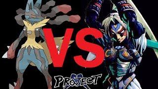 Project M (Turbo): Mega Lucario Vs Fierce Deity Link