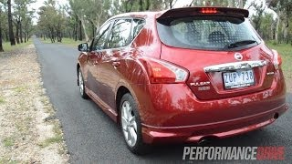 2014 Nissan Pulsar SSS 0-100km/h and engine sound