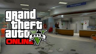 GTA 5 Online: Secret Locations Destroyed Hospital (GTA V