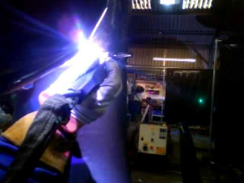 Tig welding in 2g carbon steel