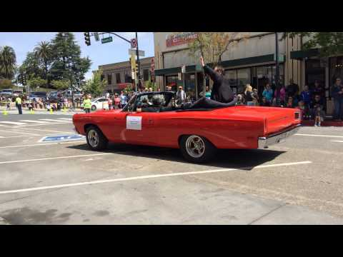 California Assemblyman Marc Levine in Petaluma's 2014 Butter & Egg Days Parade