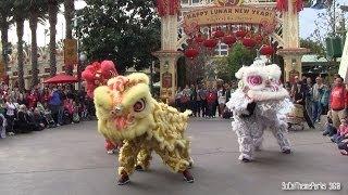 [HD] Lion Dance Lunar New Year Celebration 2014 At