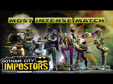 Gotham City Impostors l Most Intense Match ? [Gameday J] TDM