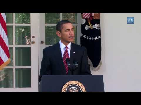President Obama on Milestones on Health Reform and Iraq