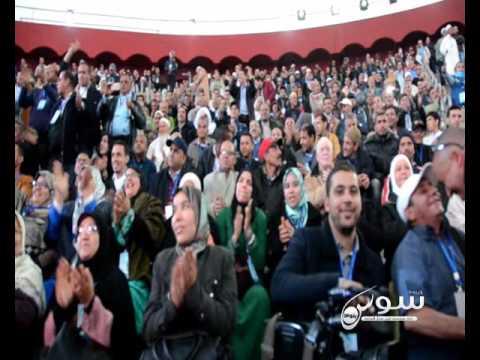 """أكادير: أخنوش """"احنا ولاد الناس وكنخدمو ولكن خصنا نتعلمو نهضرو حتى حنا + فيديو"""