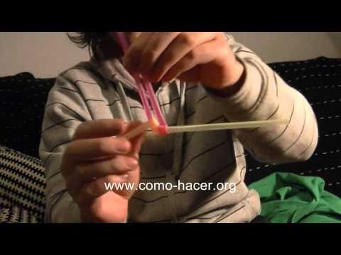 Videos de trucos de magia sencillos - Nudo magico con dos pajitas