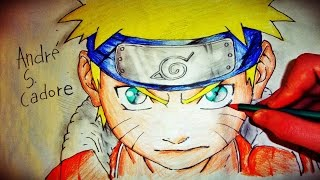 Como Desenhar Naruto Uzumaki [Naruto Classic] (How To