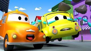 Mesto áut - Odťahové auto Tom - Autobus Lily 2