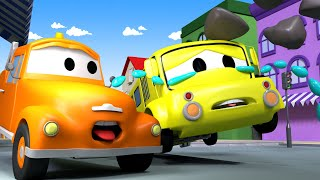Město aut - Odtahové auto Tom - Autobus Lily 2