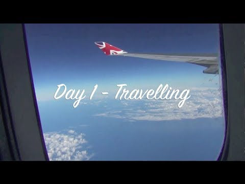 Florida Holiday Vlog: Day 1 - Travelling