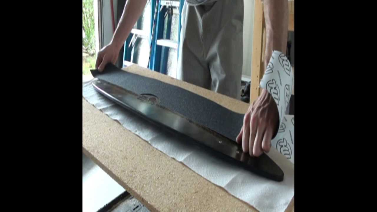 How To Make A Fiberglass Longboard Youtube