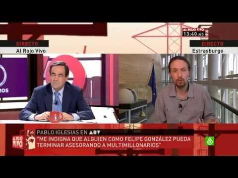 Pepe Bono Vs Pablo Iglesias Al Rojo vivo