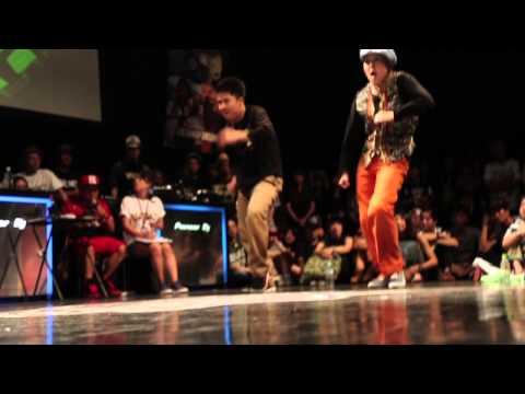 WDC 2014 FINAL LOCK・Funky-J & Vovan vs ROADDOGGZ(Cio Masato)