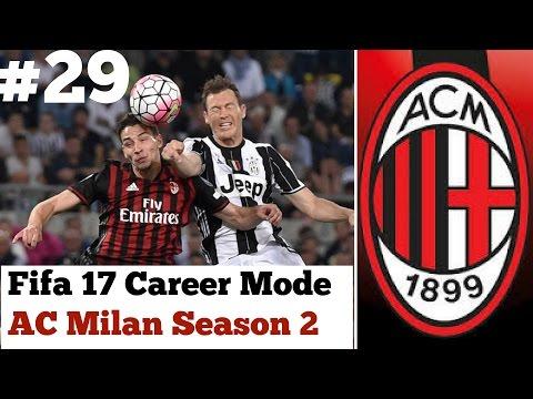 Fifa 17 ac milan career mode 29 can we finally beat for Fifa 17 milan