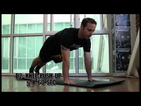 Bodyweight Conditioning Workout for Muay Thai Kickboxing