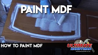 Painting MDF using Zinsser B.I.N and Zinsser Perma-white