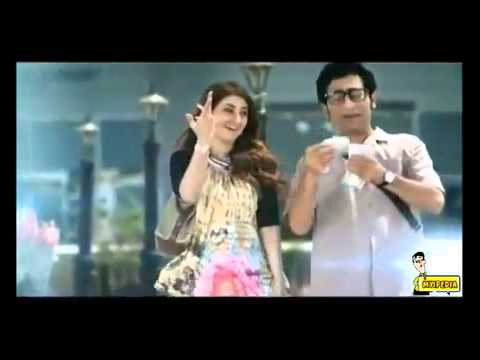 Advance Telecom New Ad 2014 #  Adnan Shah & Areeba Habib OFFICAL HD