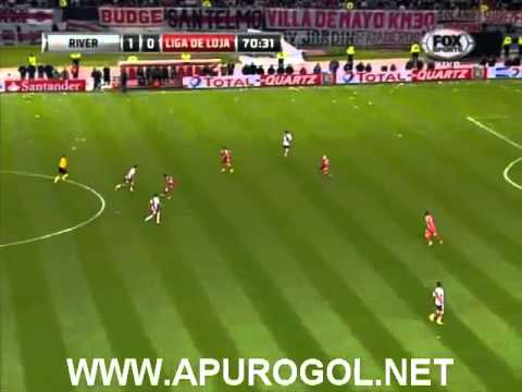 River Plate vs Liga de Loja 2-0 (3-2) Copa Sudamericana 2013 - Octavos de Final VUELTA