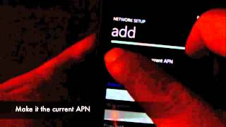 Straight Talk Windows 7 Lumia 900 How To Add MMS