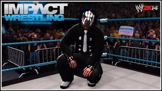 Willow The Wisp! Jeff Hardy 2014 New TNA Gimmick! (WWE 2K14)