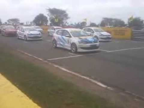 Round 2 volkswagen polo r cup india 2013 race 1 start