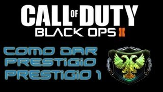 Prestigios Black Ops 2 Informacion + Prestigios Como