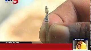Artiste creates magic with matchsticks