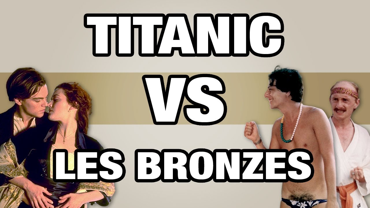 Titanic VS Les Bronzés