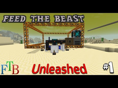 Geothermal Power, Tesseracts and Quarries - FTB Unleashed EP 1