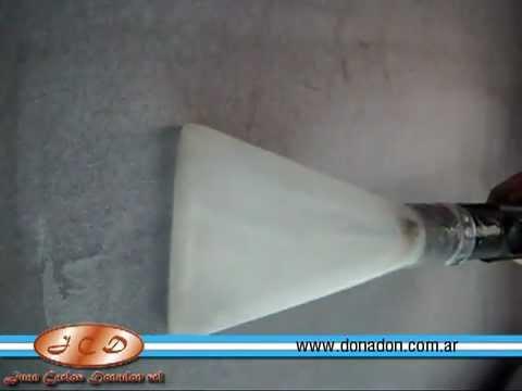 Uso de Lavatapizados LTA y Lavadora de tapizados