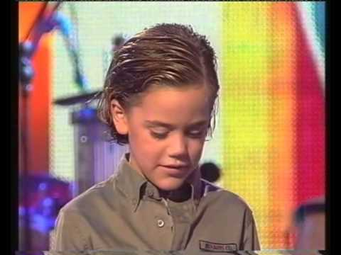 Nicolo Urbinati Munarriz Spain - Yo soy un bambino JESC 2004, Spain 1