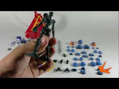 [Hobby toys review] LBX : HF Achilles&AX-00
